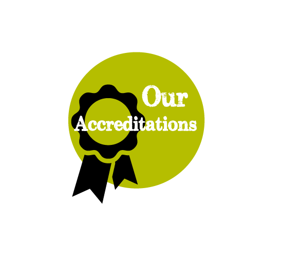 our accreditations - Fylde Fresh and Fabulous